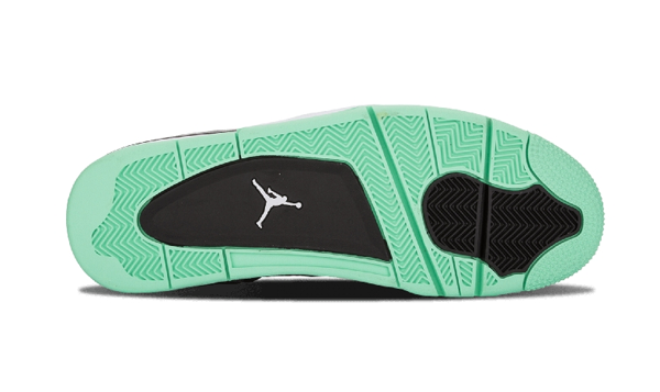 6169e0bc3fd4a2c27e2034eb40340407 - Air Jordan 4 Retro Green Glow 灰綠 男女鞋 籃球鞋 308497 033