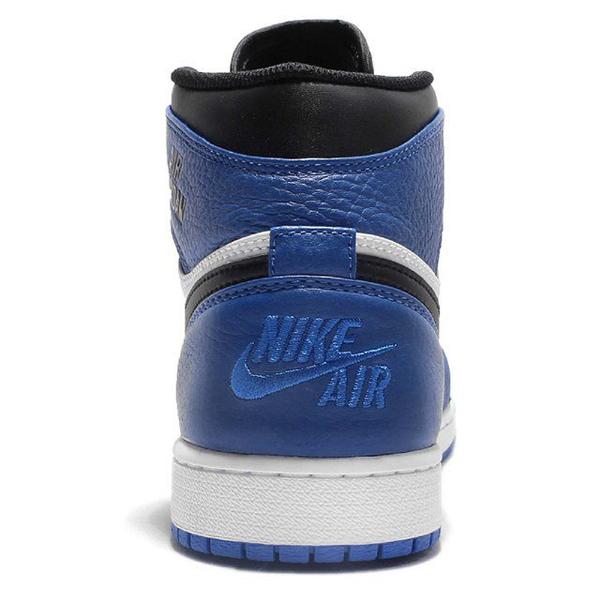 643e854d7a4f219951293539087f454b - NIKE AIR JORDAN 1 RETRO HIGH AJ1 藍白黑 皮革 男鞋 332550-400
