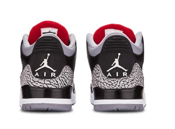 6c1d747f47b1fae070e65a6fc5e4fe65 - Air Jordan 3 Retro  Black Cement 爆裂 黑水泥 男鞋 136064 010
