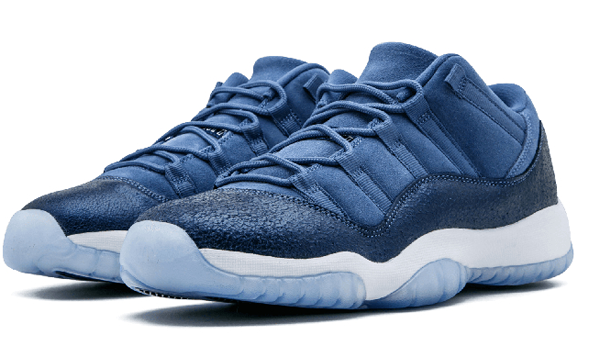 6e2d1fdbdba88cf3292ab176e64d39f9 - Air Jordan 11 Retro Low GG - 580521 408 藍 麂皮 男女鞋