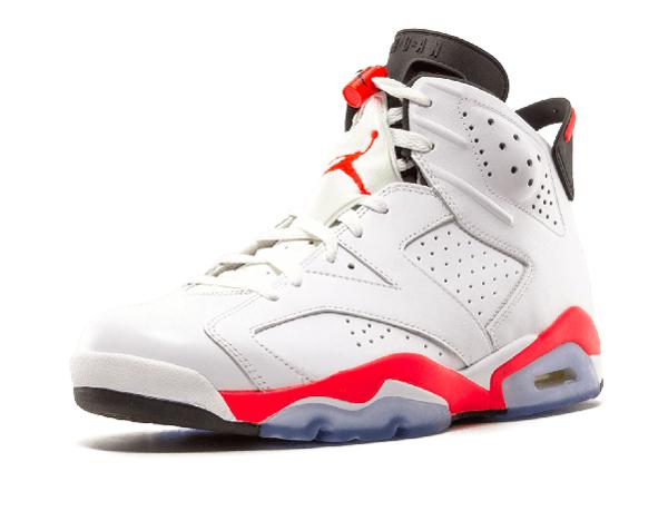78f9b33a58d1ac29361788d0ae1b113d - Air Jordan 6 Retro Infrared 男女鞋 白黑紅 6代 高筒 籃球鞋 384664 456
