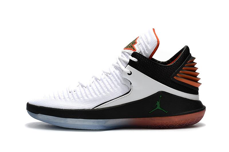832e12ff5c3db8f855146926d3a46f3a - AIR JORDAN XXXII DAY BANNED 32代 AH3348-001 喬丹 白橘 男款 水晶底 籃球鞋