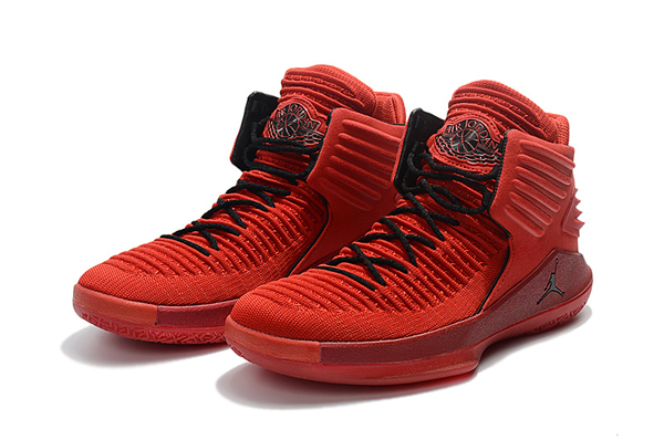 """89cf43745db9e4bd9b30da1c56276925 - Air Jordan XXXII 32代 """"Rosso Corsa"""" 賽車紅色 高筒籃球鞋 男款 耐磨 時尚 百搭 AH3348-601"""