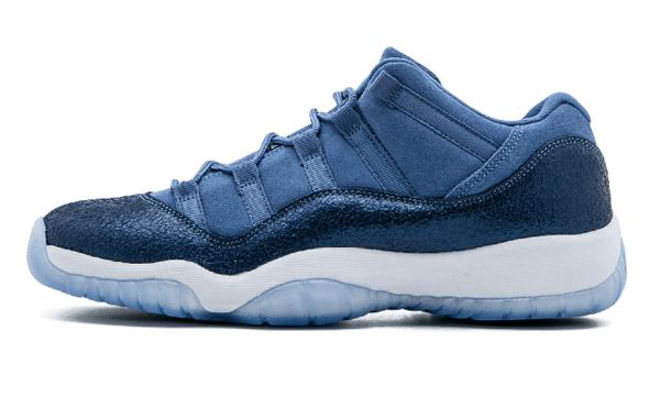 8cdfb68306e4f2318910ddee8fc67f63 - Air Jordan 11 Retro Low GG - 580521 408 藍 麂皮 男女鞋