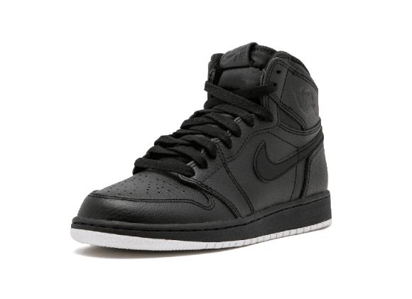 96513bbebd2e6968e4661feb4a41033e - Air Jordan 1 Retro High OG BG - 575441 002 黑色 白底 高筒 籃球鞋 情侶款