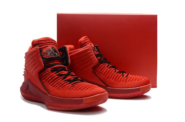 "968b60ddaaba9c96d64610761db0f98f - Air Jordan XXXII 32代 ""Rosso Corsa"" 賽車紅色 高筒籃球鞋 男款 耐磨 時尚 百搭 AH3348-601"