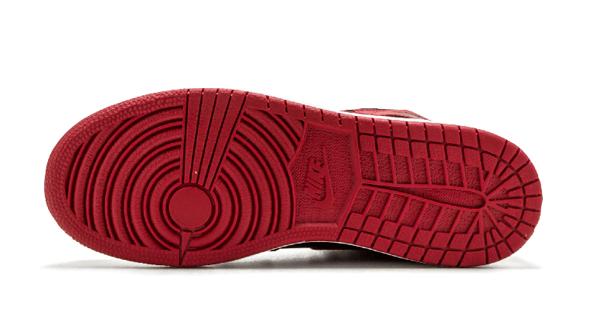 a073822fdf9093b73a624c3a5fd086bf - Air Jordan 1 Retro High OG BG 黑紅 皮面 經典 男女鞋 575441 001