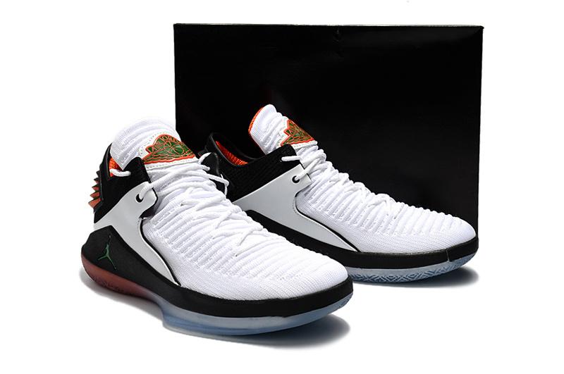 a395bebf0ec9f0a56a632fda256d8a74 - AIR JORDAN XXXII DAY BANNED 32代 AH3348-001 喬丹 白橘 男款 水晶底 籃球鞋