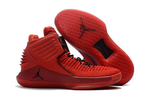 """a5e7f412ce258562020e19c1b4cd9582 - Air Jordan XXXII 32代 """"Rosso Corsa"""" 賽車紅色 高筒籃球鞋 男款 耐磨 時尚 百搭 AH3348-601"""