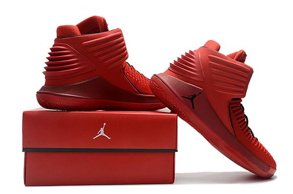 "b0e7a94fdf539ae48230c0465e7a5a78 - Air Jordan XXXII 32代 ""Rosso Corsa"" 賽車紅色 高筒籃球鞋 男款 耐磨 時尚 百搭 AH3348-601"