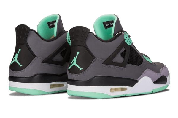 b5cb311e2fd4f112674385197a53d67f - Air Jordan 4 Retro Green Glow 灰綠 男女鞋 籃球鞋 308497 033