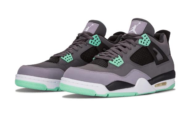 d2e93691854c73ffc12e70a9395d1c6c - Air Jordan 4 Retro Green Glow 灰綠 男女鞋 籃球鞋 308497 033