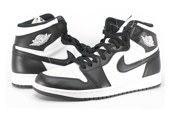 d93d42e7f365918b37910bf29ead033b - NIKE AIR JORDAN 1 RETRO HIGH Black White 情侶 高筒 黑白 555088-010 - 耐吉官方網-nike 官網