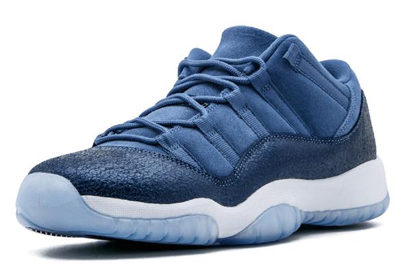 ec1e641ec0db43b83ae251788ba5da76 - Air Jordan 11 Retro Low GG - 580521 408 藍 麂皮 男女鞋
