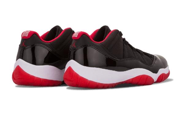 f0fb0355d871879985c6b11d327bc153 - Nike Air Jordan 11 Retro Low Bred AJ11 低幫 黑紅 男鞋 528895 012