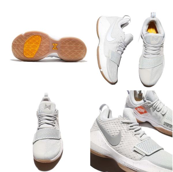 351168249b76cf2ed67defc4e3a456a5 - NIKE PG 1 EP Pure Platinum 淺灰 鱗片 麂皮 膠底 籃球鞋 男鞋 878628-008