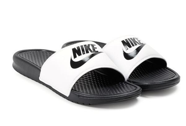 65c4cf1af28922d564af2e6f83a52312 - Nike Benassi JDI 343880-100 權志龍 基本款 GD 黑 白 拖鞋 情侶款