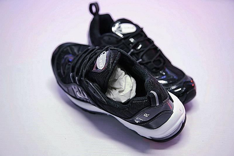 23dc99bd275565e638b69d74fd82aee5 - 男女鞋 Nike Air Max 98 復古氣墊百搭慢跑鞋 黑白 640744-010