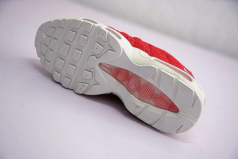 3b7ca883d7616dbd9be66dfa79404ba7 - Nike Air Max 95 TT 復古氣墊百搭慢跑鞋系列 串標紅白藍 AJ1844-600