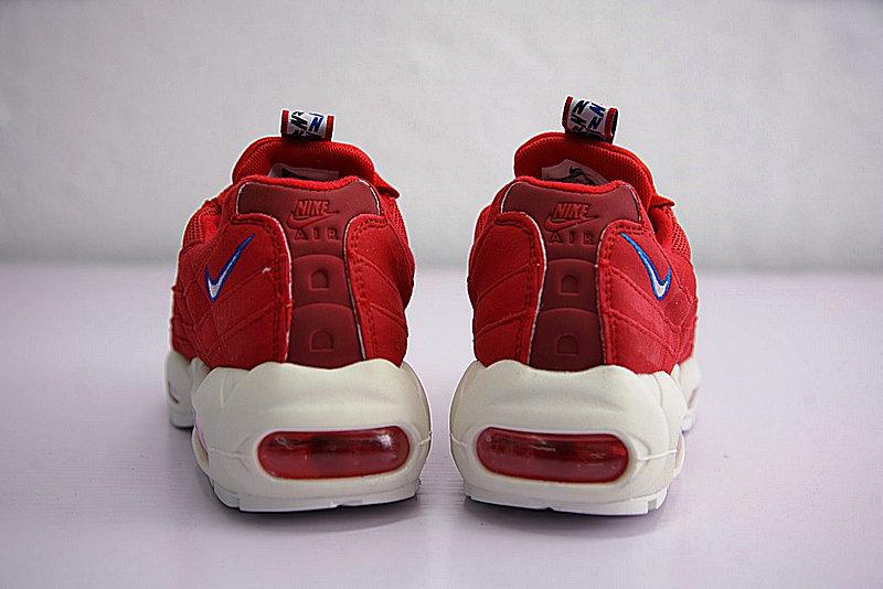 42460033d4042269ce9546e88b14d02e - Nike Air Max 95 TT 復古氣墊百搭慢跑鞋系列 串標紅白藍 AJ1844-600