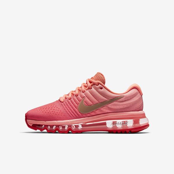 61750db3be9c58dba16228dbc9543a4f - NIKE AIR MAX 2018(GS) 851623-800 女款 編織 全氣墊慢跑鞋 粉紅配色