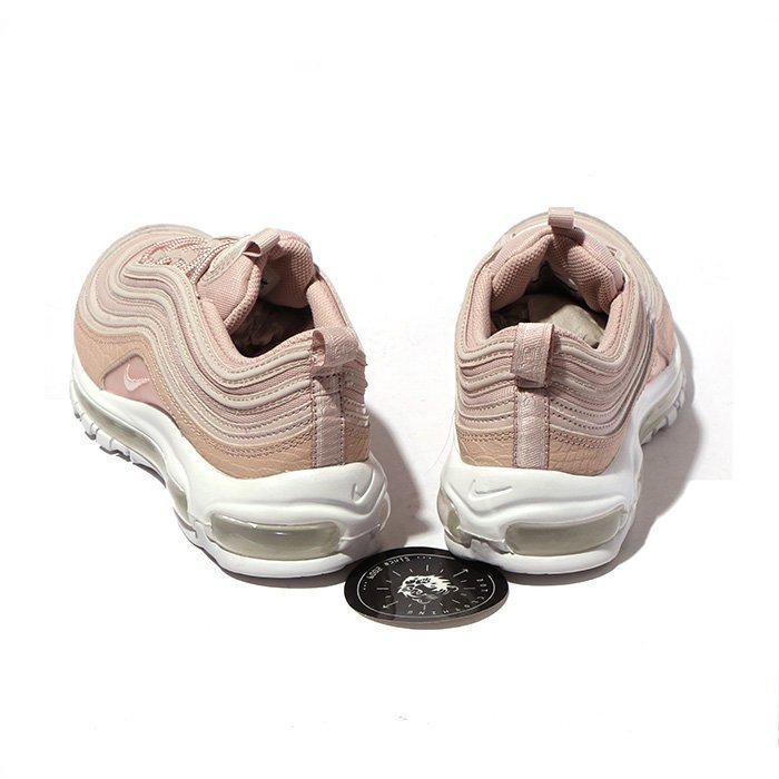 6a8249420dba372e484ded4f58f441a9 - NIKE W AIR MAX 97 PRM 櫻花粉 粉 鱷魚紋 皮革 氣墊 慢跑鞋 女917646-600