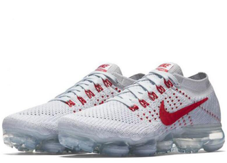 6f53f4ddb075041b548adadcc1ddf77a - Nike Air VaporMax Flyknit Pure Platinum 紅白 情侶鞋 熱門款849558-006