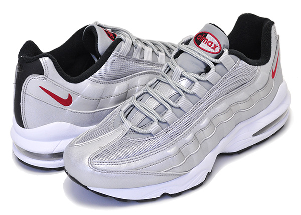 86860edd2c7256fca9ee599366e6d324 - NIKE AIR MAX 95 QS GS 氣墊 金屬銀 情侶鞋 918630-001