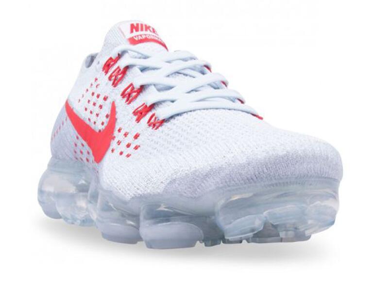 893a247ededd0549201f005cc4073176 - Nike Air VaporMax Flyknit Pure Platinum 紅白 情侶鞋 熱門款849558-006