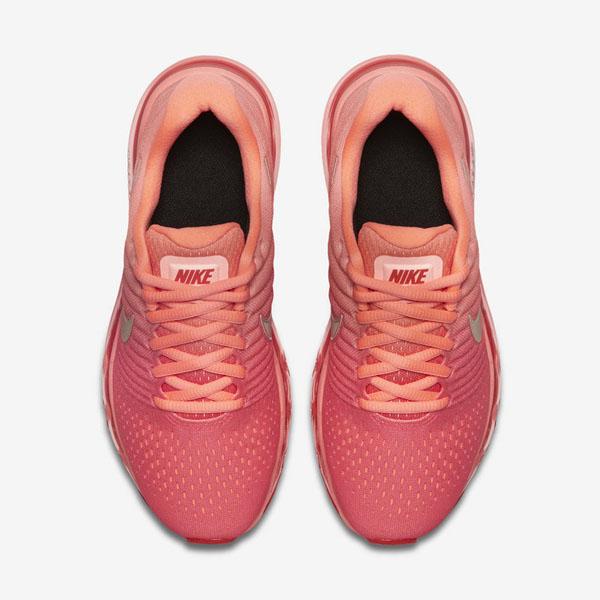 8aa356688a09c667efae26dc98cca7ad - NIKE AIR MAX 2018(GS) 851623-800 女款 編織 全氣墊慢跑鞋 粉紅配色
