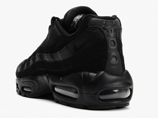 979fd7175923cd6c491b39320ac0b6fe - NIKE AIR MAX 95 全黑武士 黑魂 情侶 氣墊運動跑步鞋 609048-092