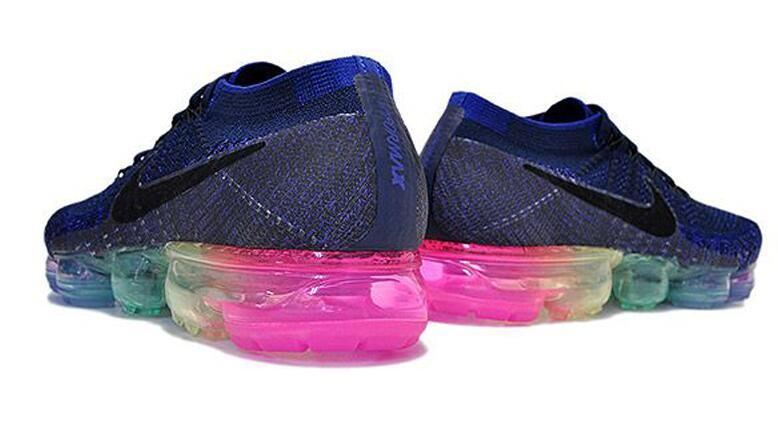 a51f48a52f5e17b8d98765b14801612c - Nike Air Vapormax BeTrue 彩虹繽紛 藍 氣墊 男女 慢跑鞋
