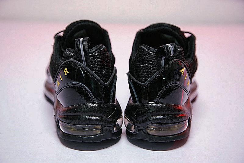 abeb937cbd424533e8479f3d8af9ccbb - 男鞋 Nike Air Max 98 復古 氣墊 百搭 慢跑鞋 黑黃 640744-080