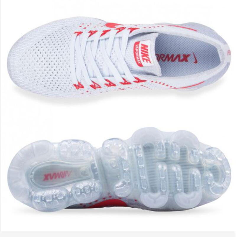 bb67515253054245e10d8faf5b401afc - Nike Air VaporMax Flyknit Pure Platinum 紅白 情侶鞋 熱門款849558-006