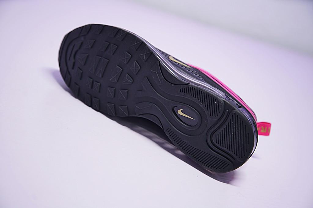 bd79695e70c5847af79f52502479e5fc - Nike Air Max 97 UL  氣墊 百搭 全黑粉紅 927508-002