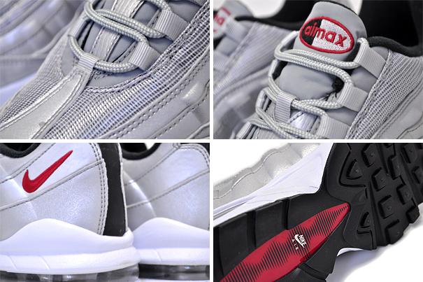 c4978af2fbd1612fa197d6729a4e202a - NIKE AIR MAX 95 QS GS 氣墊 金屬銀 情侶鞋 918630-001