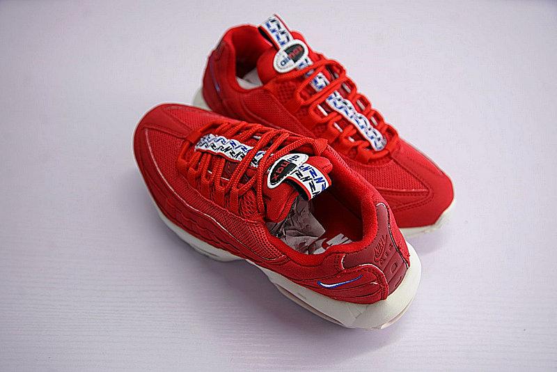 c631d275574355dc006d9ba8a716a7d3 - Nike Air Max 95 TT 復古氣墊百搭慢跑鞋系列 串標紅白藍 AJ1844-600