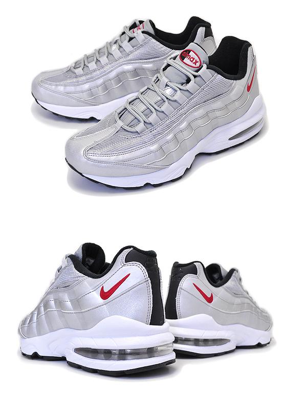 c6d9eb466970eddb0e0a596a659364a6 - NIKE AIR MAX 95 QS GS 氣墊 金屬銀 情侶鞋 918630-001
