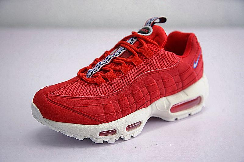cab208ce199699b91d79231ba2620081 - Nike Air Max 95 TT 復古氣墊百搭慢跑鞋系列 串標紅白藍 AJ1844-600