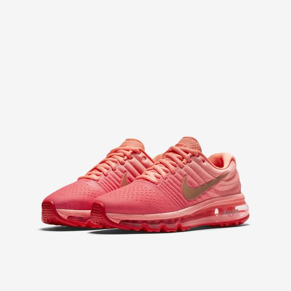 d5c627503c41d1ecf0aa0874820ab8cc - NIKE AIR MAX 2018(GS) 851623-800 女款 編織 全氣墊慢跑鞋 粉紅配色