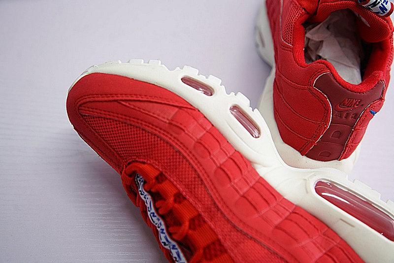 dd4bc14df181ae5b4ab04fef4e4d3a5a - Nike Air Max 95 TT 復古氣墊百搭慢跑鞋系列 串標紅白藍 AJ1844-600