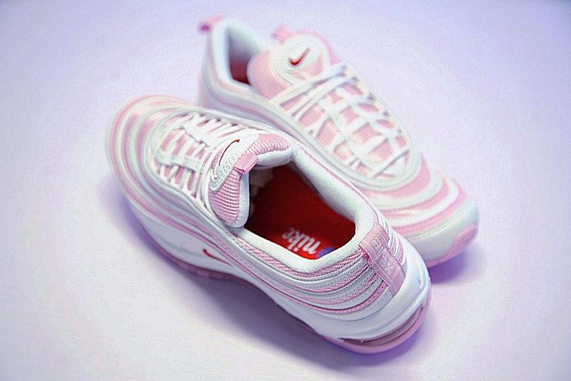 dd6817a804a246f51929f42e47ad63af - Nike Air Max 97 百搭 子彈鞋  粉白 312834-004