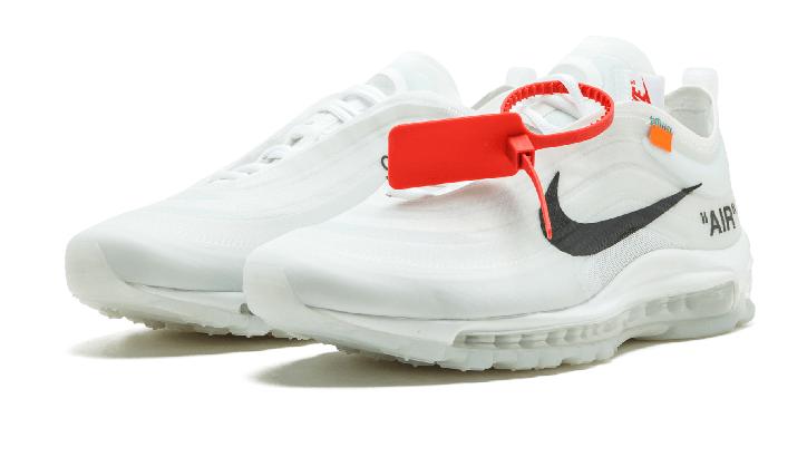 debb6a9e48832b301cb59fe8a57213ec - Nike Air Max 97 OG  Off White - AJ4585 100 白色 男鞋
