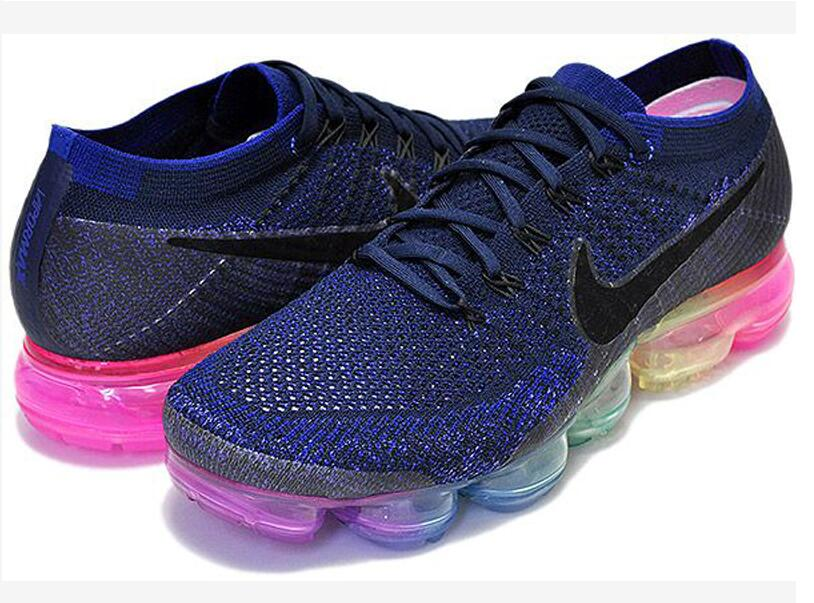 e5202d4648d874d951e0902947093515 - Nike Air Vapormax BeTrue 彩虹繽紛 藍 氣墊 男女 慢跑鞋