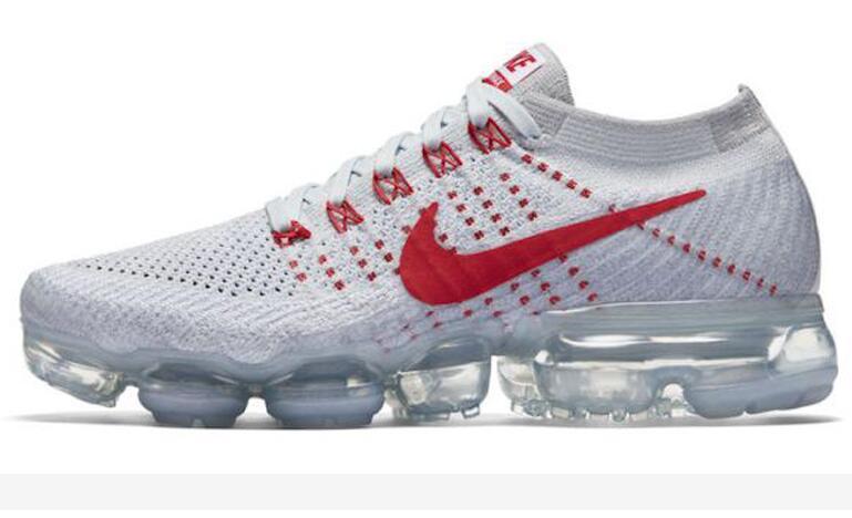 ea1dc7a1069d5784b98d3f985810ea89 - Nike Air VaporMax Flyknit Pure Platinum 紅白 情侶鞋 熱門款849558-006
