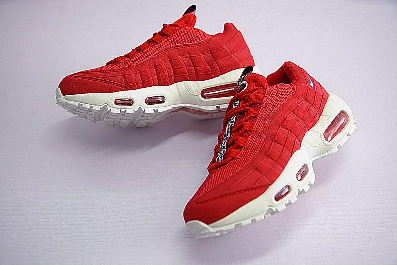 fc14a98a13842554d07e90e9982b0530 - Nike Air Max 95 TT 復古氣墊百搭慢跑鞋系列 串標紅白藍 AJ1844-600