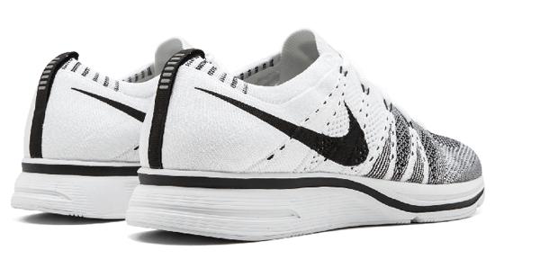188366e243a3faa5fa1ccd77061dcb5d - Nike Flyknit Trainer白黑 情侶鞋 飛線 AH8396 100