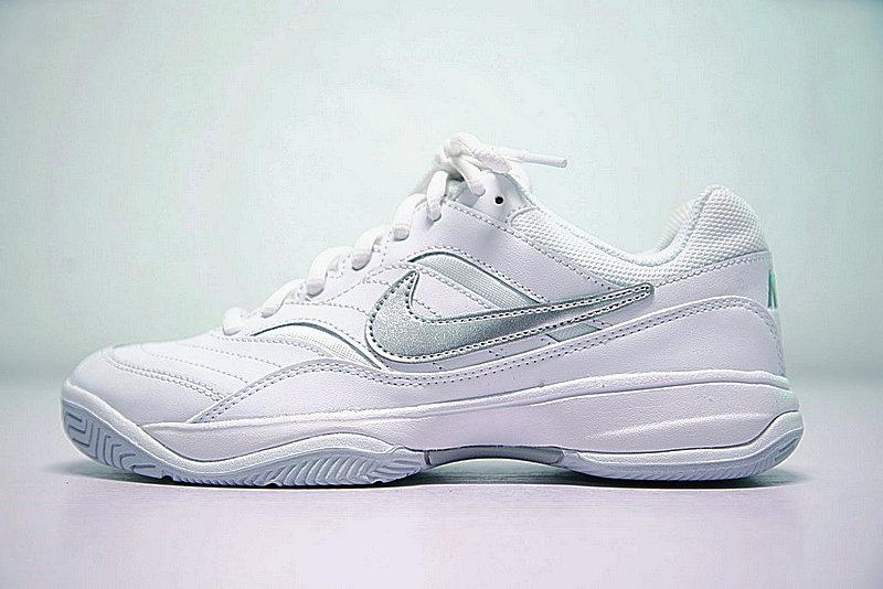 330487784dfe01e2fc3f6cda2dc708e5 - Nike Court Lite 韓系 復古 網球 旅遊鞋 白銀 845048-100