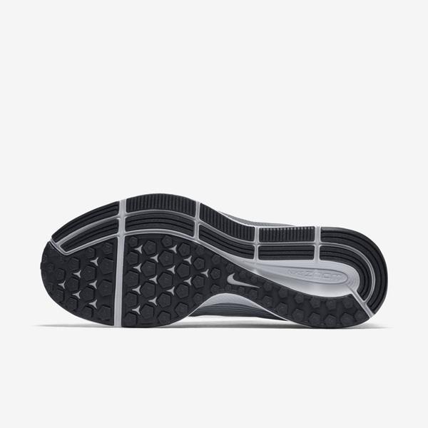40e4699e495bdc6a534f48b6f38f5f63 - NIKE AIR ZOOM PEGASUS 34 淺灰黑 880555 010 男生 慢跑鞋