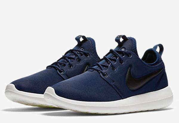 5dc17e11974ace588b1d1f6b7b358291 - Nike Roshe Two 男 深藍白 2代 復古 慢跑 休閒鞋 844656-400